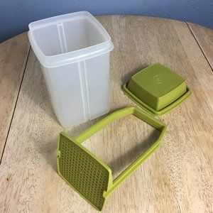 Vintage Tupperware Pickle/Olive 3 Piece Container